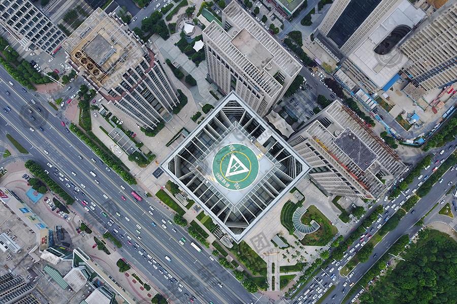 安徽合肥▪新城国际 高架直升机场